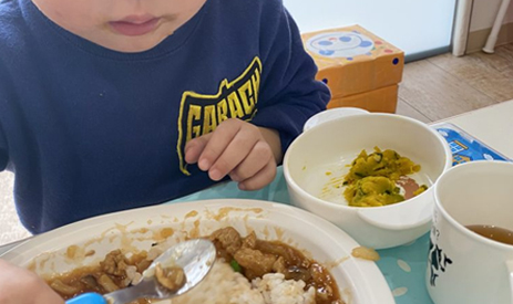 子どもたちの食育